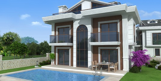 Villa for sale in Fethiye, Hisarönü