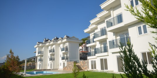 3 Bedroom 2 Bathroom Apartment for sale in Fethiye, Ovacık