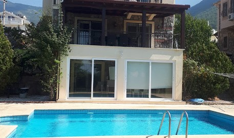 4 Bedroom, 4 Bathroom, 2 Kitchen Triplex Villa – Ovacık valley