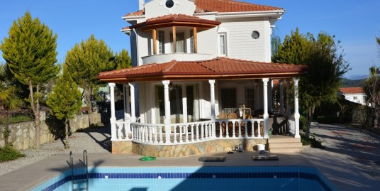 3 Bedroom 3 Bathroom Fully furnished Triplex Villa – Fethiye Ovacik