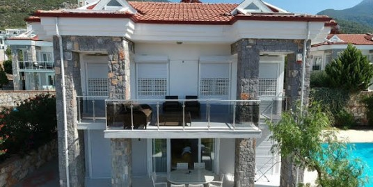 3 Bedroom Luxurious Fully furnished Private Triplex Villa – Fethiye, Ovacık