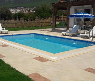 3 Bedroomed 3 Bathroom Private Triplex Villa -Fethiye, Ovacik valley