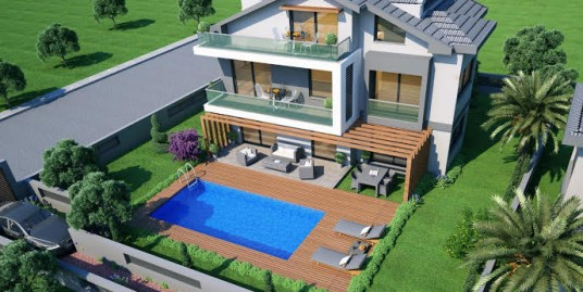 4 Bedroomed 4 Bathroom unfurnished Brand New Triplex villa – Fethiye, Calis