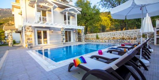 4 Bedroom DeLux Fully furnished Private Triplex Villa – Fethiye, Ovacık