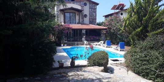 4 Bedroom Fully furnished Triplex Stone House – Fethiye, Ovacik