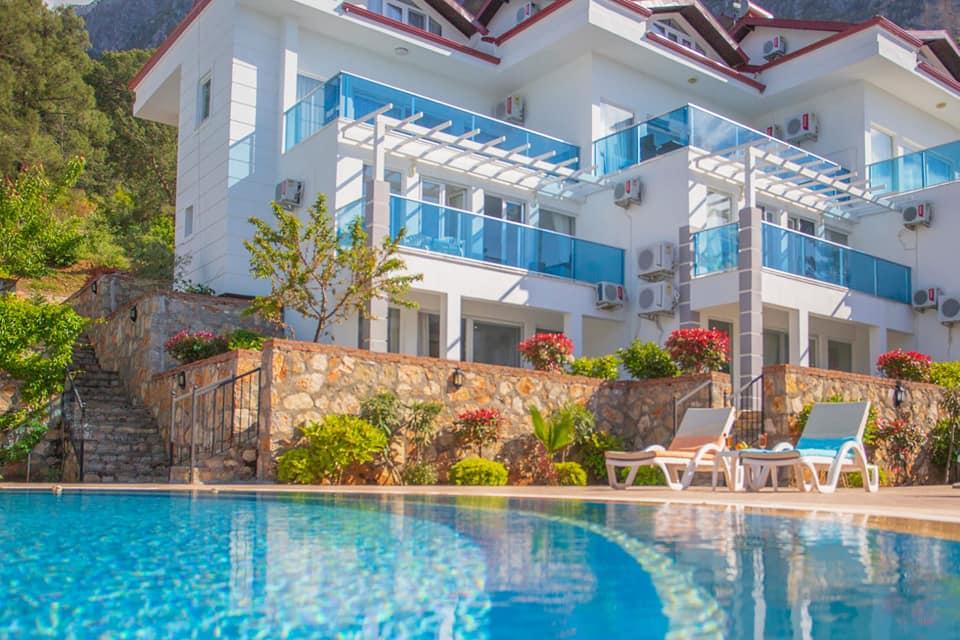 2 Bedroom fully furnished Modern Duplex Apartment – Fethiye, Ovacik