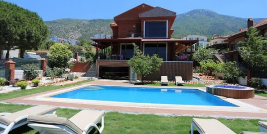 6 Bedroom 5 Bathroom  Luxury Triplex Villa – Fethiye, Ovacik
