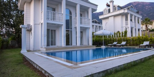 4 Bedroom 4 Bathroom fully furnished beautiful private Villa – Fethiye