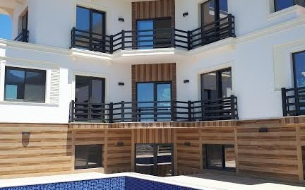 BRAND NEW 6 Bedroomed 6 Bathroom  Triplex unfurnished Smart Villa -Fethiye,Ovacık