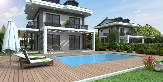 Brand New off plan Private Triplex 4 Bedroomed  all en-suit villas -Fethiye, Ovacik areas