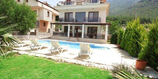 4 bedroomed 4 bathroom fully furnished triplex villa -Fethiye,  Ovacik