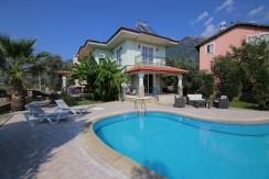 3 Bedroomed 3 Bathroom Duplex Fully Furnished Private Villa – Fethiye, Ovacik