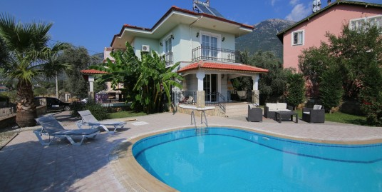 3 Bedroomed 3 Bathroom Duplex Fully Furnished Private Villa – Fethiye, Ovacik