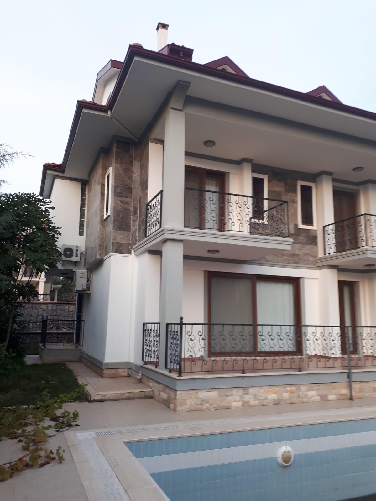 4 Bedroomed 3 bathroom Triplex (2 en-suit) Fully Furnished Villa – Fethiye, Ovacik