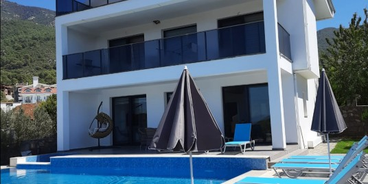Brand New 4 bedroomed 4 bathroom all en-suit Triplex Villa-Fethiye, Ovacik