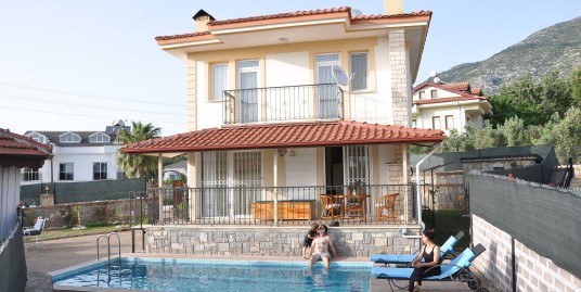 3 Bedroom 2 Bathroom Fully Furnished Duplex Villa – Fethiye, Ovacik