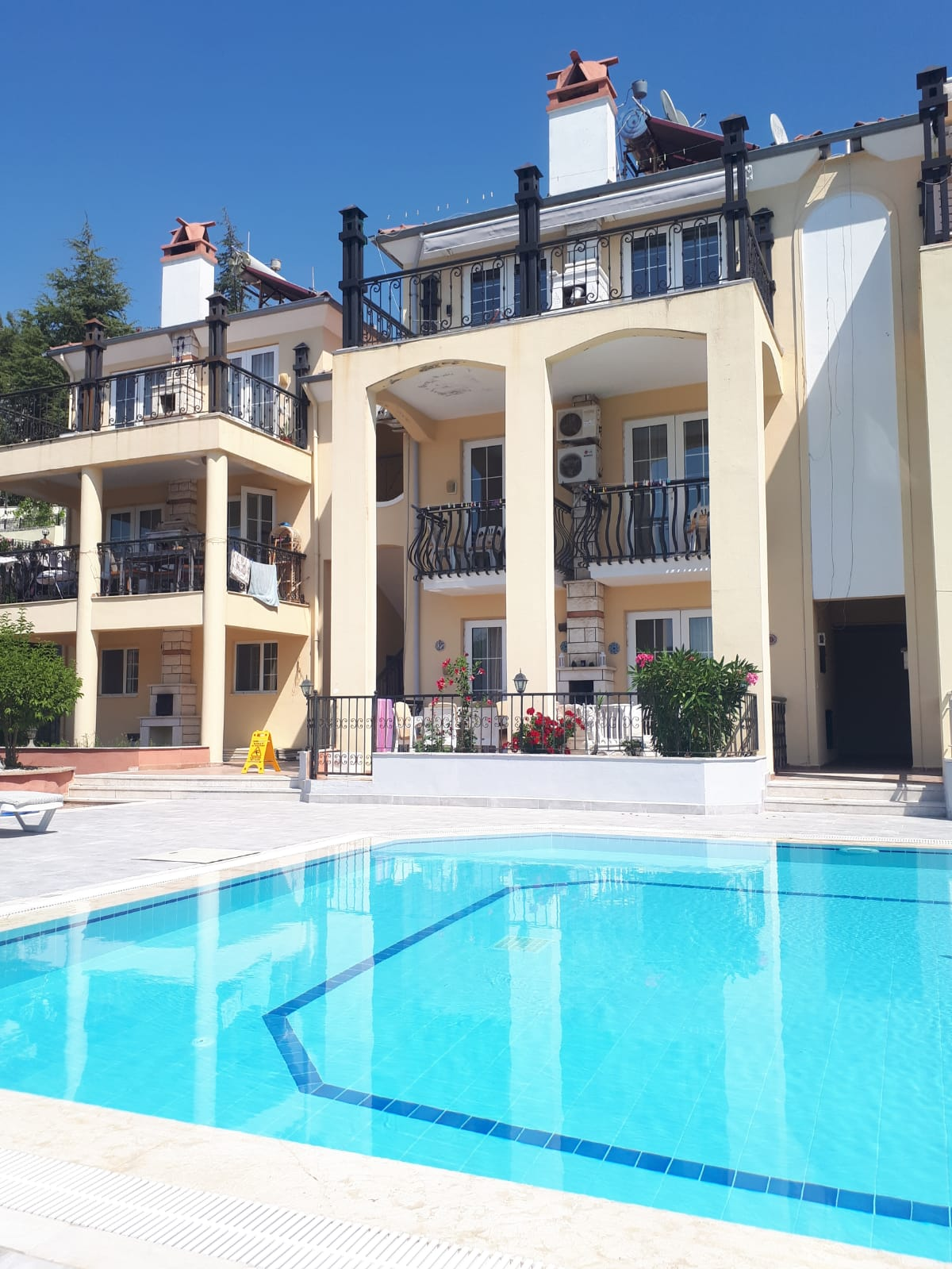 3 Bedroom 2 Bathroom Duplex Apartment in the Modern Complex – Fethiye, Ovacik