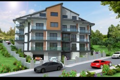 Brand New 4 Bedroomm 3 Bathroom Duplex Apartment – Fethiye