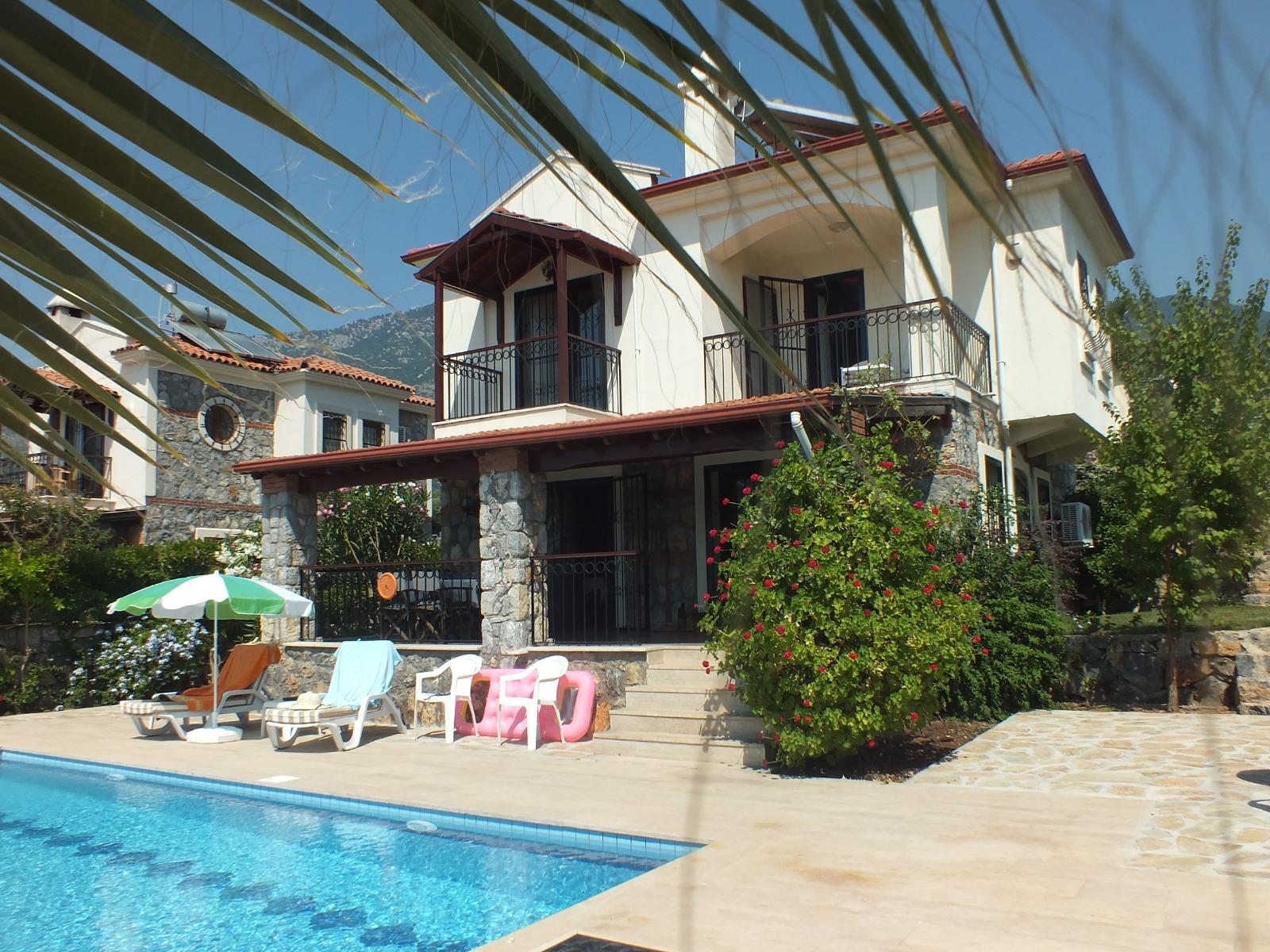 3 bedroomed 3 bathroom  furnished duplex villa – Fethiye, Ovacik