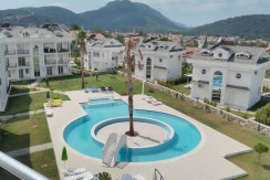 3 Bedroom  2 Bathroom fully furnished Duplex apartment  – Fethiye, Ovacik