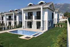 4 Badroom Brand New Modern Villa unfurnished- Fethiye, Hisaronu