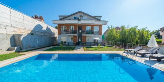 For sale 3 bedroomed 2 bathroom brand new fully furnished dublex apartment – Fethiye, Ovacik