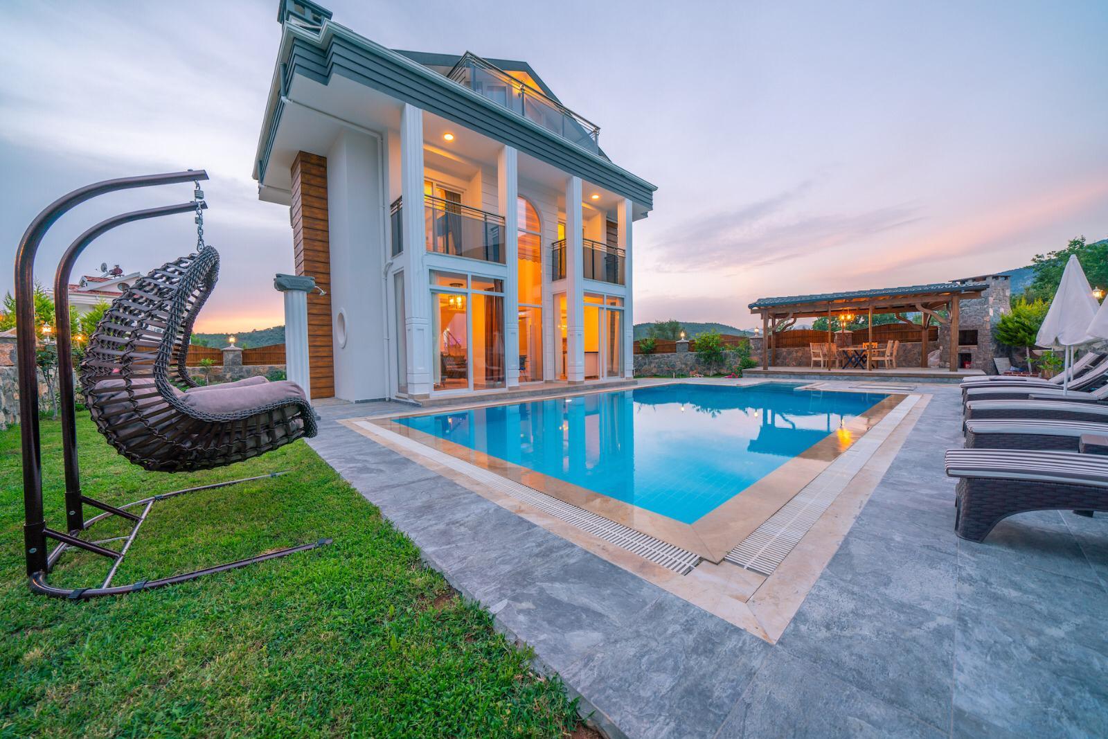 4 Bedroom 4 Bathroom Luxury Villa for Holiday Rent – Fethiye, Ovacik